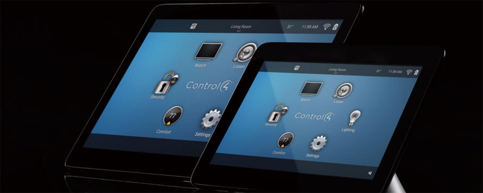 Control4 skärm